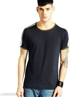 Tshirts Stylish 100 % Cotton Men's T-Shirt Fabric: 100 % Cotton  Sleeves: Sleeves Are Included Size: S  M  L  XL  2XL (Refer Size Chart) Length: Refer Size Chart Type: Stitched Description: It Has 1 Piece Of Men's T-Shirt Pattern: Solid Country of Origin: India Sizes Available: S, M, L, XL, XXL   Catalog Rating: ★4 (524)  Catalog Name: Free Mask Latest Stylish 100 % Cotton Men's T-Shirts Vol 10 CatalogID_312635 C70-SC1205 Code: 223-2340903-9901