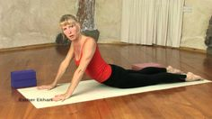 """http://www.EkhartYoga.com Yoga Beginners Part 1 """"Foundational Poses"""", Esther's new beginner series for all of you who are starting to practice yoga..In part ..."""