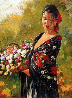 Menelwena ~ Paintings Of Females ~ Peintures de femmes - (page 16) - Menelwenaart
