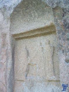 Piedra Escrita de Cenicientos podría ser un santuario rural consagrado a Diana y también podría haber señalado la frontera oriental entre Lusitania y Citerior. piedra escrita 1.jpg
