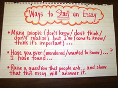 What are some good hooks for my persuasive essay?