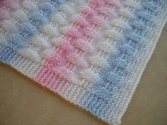 kolay bebek battaniyesi örneği