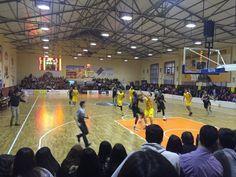 Javier Jaldo Gómez @javierjaldo84  Intensa jornada y por la tarde disfrutando de un buen partido de baloncesto, gran afición la del @cbmoron