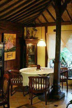 41 Comfy Traditional Dining Room Design And Decor Ideas From Indonesia Traditional Dining Rooms, Traditional House, Traditional Decor, Indonesian Decor, Asian Interior Design, Balinese Interior, Thai House, Javanese, Dining Room Design