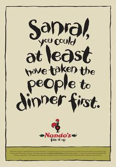 Nando's disses Sanral on commencement of e-tolls - Times LIVE