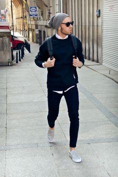 http://chicerman.com  coolcosmos:  Konrad D.  #streetstyleformen