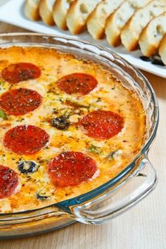 Amazing Pizza Dip :: Makes a great appetizer!