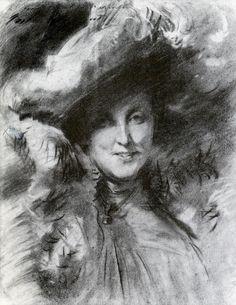 Mrs.Charles Hunter 1902. John Singer Sargent
