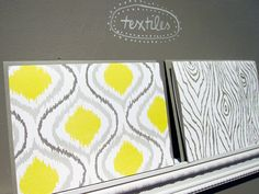 textile printed notecards  -  NSS 2011 {Wild Ink Press via The Sweetest Occasion}