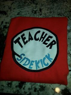 Dr. Seuss inspired Teacher's Aide Shirt by 3Girlsandacat on Etsy https://www.etsy.com/listing/247799728/dr-seuss-inspired-teachers-aide-shirt