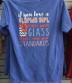 new concept 0db8e 34a5d Florida girl comfort color t-shirt. Gators plus