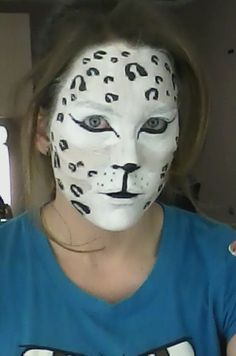 Cougar makeup | Halloween | Pinterest | Deer makeup, Halloween ...