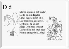 alfabetul limbii romane pentru copii in versuri - Google Search Teaching Kids, Kids Learning, Romanian Language, Little Einsteins, English Lessons For Kids, School Lessons, Kids Education, Nursery Rhymes, Homeschool