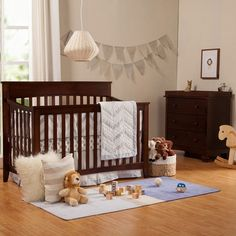 DaVinci Grove 4-in-1 Convertible Crib and Highland Changer in Espresso - Click to enlarge