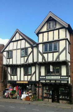 Still going strong - Medieval houses in Exeter, Devon