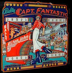 captain fantastic pinball game