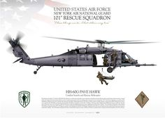 UNITED STATES AIR FORCE . NEW YORK AIR NATIONAL GUARD 101ST RESCUE SQUADRON