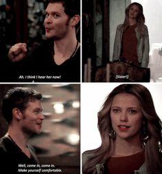 "#TheOriginals 2x16 ""Save My Soul"" - Klaus and Freya"