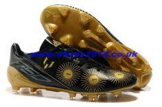 Black gold Adidas F50 adizero TRX FG Leo Messi Ballon d Or For Wholesale