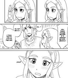 Zelda você está perfeita assim, não mude nada