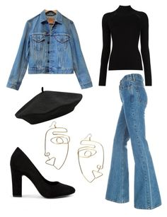 Untitled #52 by minimalistmotif on Polyvore featuring polyvore, fashion, style, Levi's, New Look, M&Co and clothing