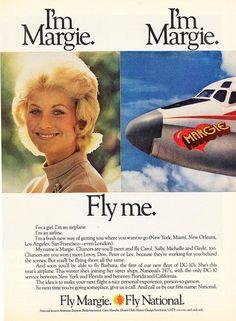 Vintage Travel, Vintage Ads, Vintage Airline, Job Interview Preparation, Gatwick Airport, National Airlines, United Airlines, Air Travel, Orlando Florida