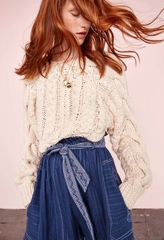 Ulla Johnson's globetrotting free spirit will gain little prep in her step come 2017. Classic American sportswear was the inspiration behind the designer's resort collection - although not without her signature bohemian flair. Chambray blouses are delicately embroidered, tennis sweaters are