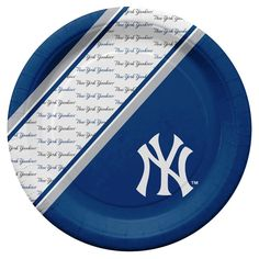 New York Yankees Disposable Paper Plates