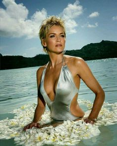 I photographed Sharon Stone on the Island of Bora-Bora in the South Pacific. The shoot lasted 3 days and Sharon was incredibly professional and always on time. Star Hollywood, Sharon Stone Photos, Celebrity Bikini, Actrices Hollywood, Jolie Photo, Celebs, Celebrities, Hollywood Actresses, Beautiful Actresses