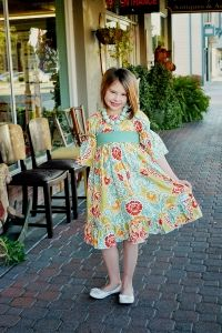 Marissas Tween Perfect Peasant Dress PDF Sewing Pattern by Create Kids Couture