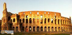 Coliseo romano en Roma. Vacaciones en Roma e Italia.  Recorre Italia con http://www.reservasdecoches.com/paises/alquiler-de-coches-italia/ #viajes #turismo #italia #roma #coliseo #vacaciomes #monumentos