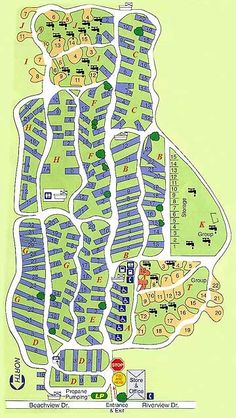 Hickory Point Rv Park Site Map 2017 In Tarpon Springs On The Beautiful Gulf Coast Of Central