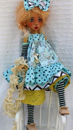 Amazing doll by Kaye Wiggs