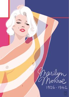 Marilyn from the cartoonist DIGLEE