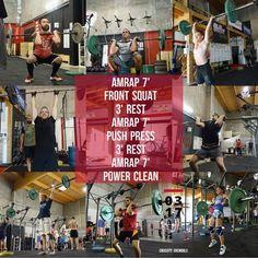 WOD 030717 #CrossFit #Grenoble #CrossFitGrenoble #Wod #Training #OriginalAthlete #smh #DuSportMaisPasQue #Sport #SurvivalKit #TimeIsMyOwn #becrossfit
