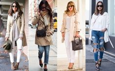 Foto: Reprodução / Super Vaidosa | Sincerely, Jules | Chic Adventure It!  | Song of Style Duster Coat, Ideias Fashion, Winter Fashion, Trench, Jackets, Clothes, Winter Tips, British Soldier, Fashionable Winter Coats