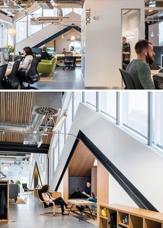 30 Pictures Of Airbnb's Spacious Dublin Headquarters