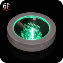 Weight Activated LED Coaster China Factory Wholesales LED Good Quality Coaster - search result, Shenzhen Great-Favonian Electronics Co., Ltd.