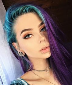 Bold makeup look Nº3 by lastfeastofthewolves - #eyeshadow #makeup #cosmetics #lipstick #beauty #lips