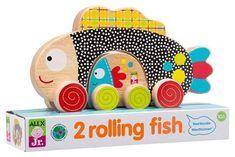 Alex Toys Rolling Fish