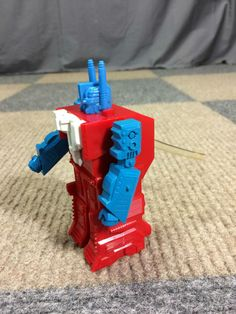 VINTAGE 80s TRANSFORMERS ULTRA MAGNUS ELECTRONIC VOICE CHANGER SYNTHESIZER ROBOT #DurhamHasbro