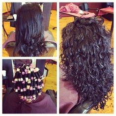 Short hair perm with white rods look book tspa pinterest perm loose curl permw if mine would just come out like this in solutioingenieria Images