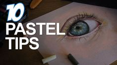 10 Chalk pastel tips. Super helpful and easy to understand for my age and artistic levels