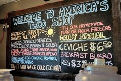 America's Taco Shop, Phoenix, Arizona