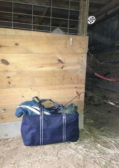 Large Utility Tote! Perfect for storing your horse blankets!