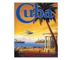 Sconto 82%. Cuba. Stampa su tela