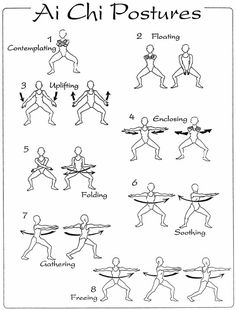 Tai Chi-my kind of exercise...slow but sure.