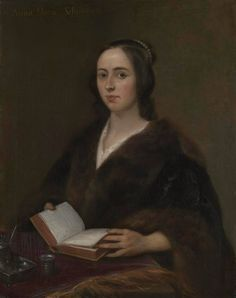 Jan Lievens painted this portrait of Anna Maria van Schurman in 1649. Anna Maria van Schurman was a Dutch poet and scholar.