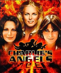 """Charlie's Angels"" (Created by Ivan Goff, Ben Roberts. With Kate Jackson, Farrah Fawcett, Jaclyn Smith, David Doyle.): The adventures of three sexy female private eyes. Kate Jackson, John Forsythe, Farrah Fawcett, Jaclyn Smith, Movies And Series, Tv Series, Charlies Angels, Angel Cast, Cheryl Ladd"