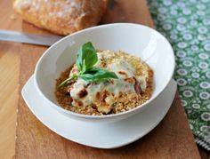 Slow Cooker Eggplant Parmesan Stew (omit cheese)